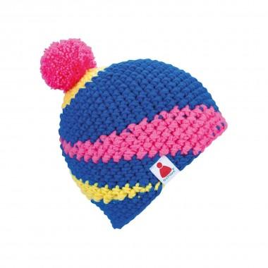 Sionyx Zack mitBml Beanie blue/pink/yel 13/14