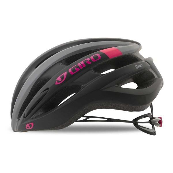 Giro Saga wms mat black pink 2019