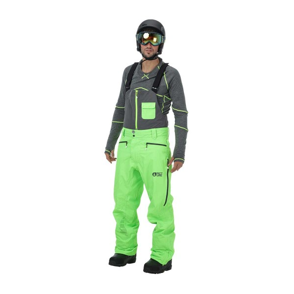 Picture Welcome 4 Bib Pant neon green 16/17
