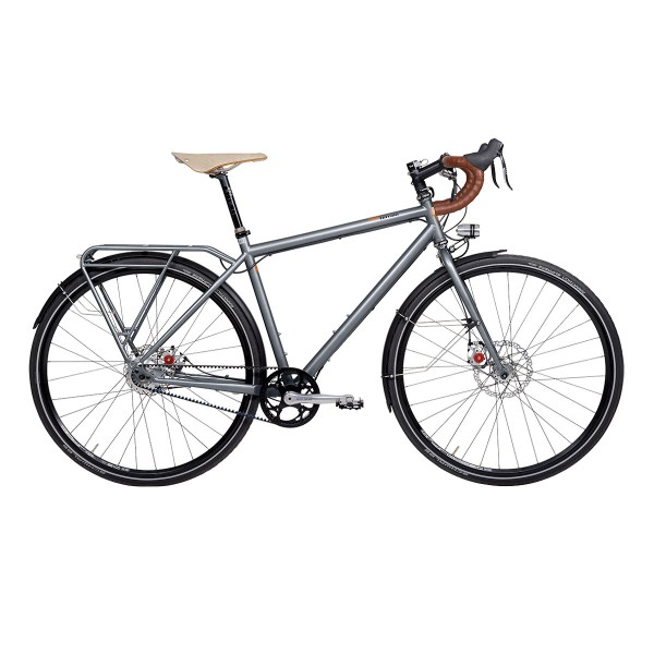 Tout Terrain 5th Avenue GT Rohloff Silver follow me 2016
