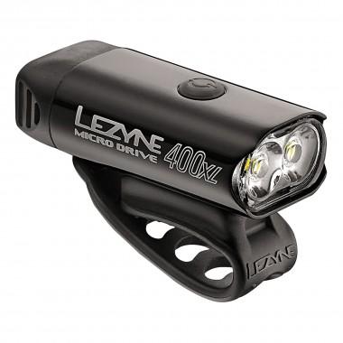 Lezyne Micro Drive 400XL Front black