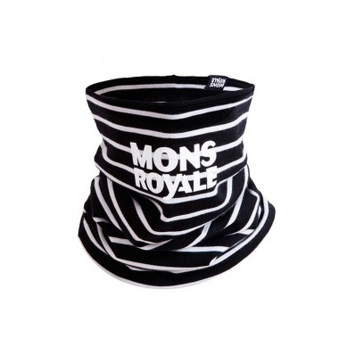 Mons Royale Double Up Neckwarmer stripes 16/17