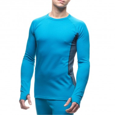 Houdini Alpha Crew Base Layer blue/denim 13/14