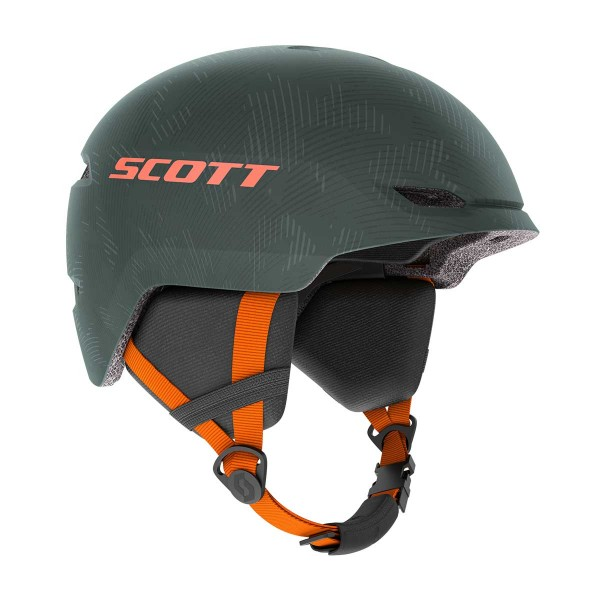 Scott Keeper 2 kids sombre green / pumpkin orange 20/21
