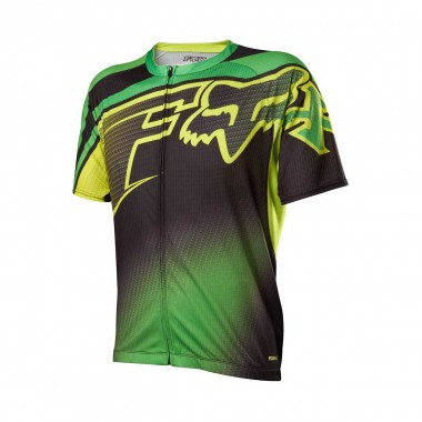 Fox Racing Livewire Descent Jersey green 2014