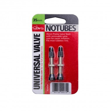 Stan's NoTubes Ventil-Satz 35mm bis 8mm Ventilloch