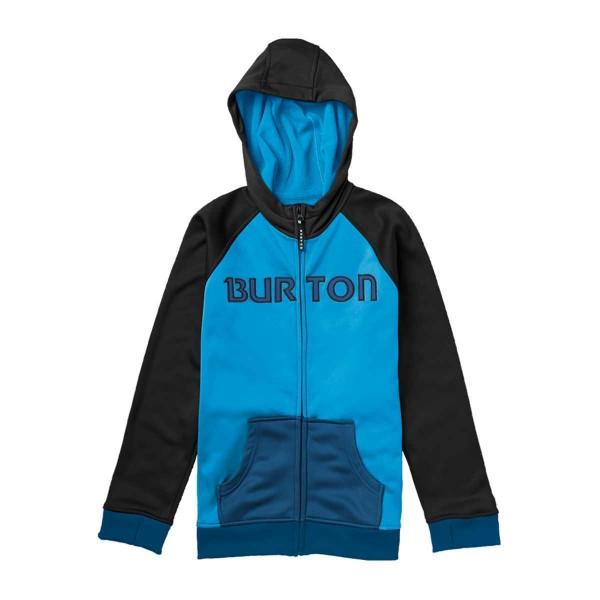 Burton Bonded Hoodie boys blue ray/blk 13/14