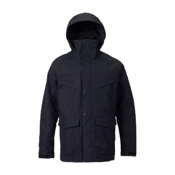 Burton Breach Shell Jacket true black/black wax