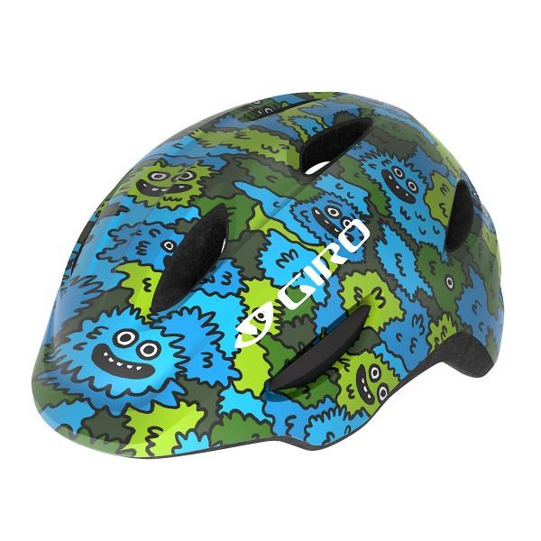 Giro Scamp kids blue / green creature 2020