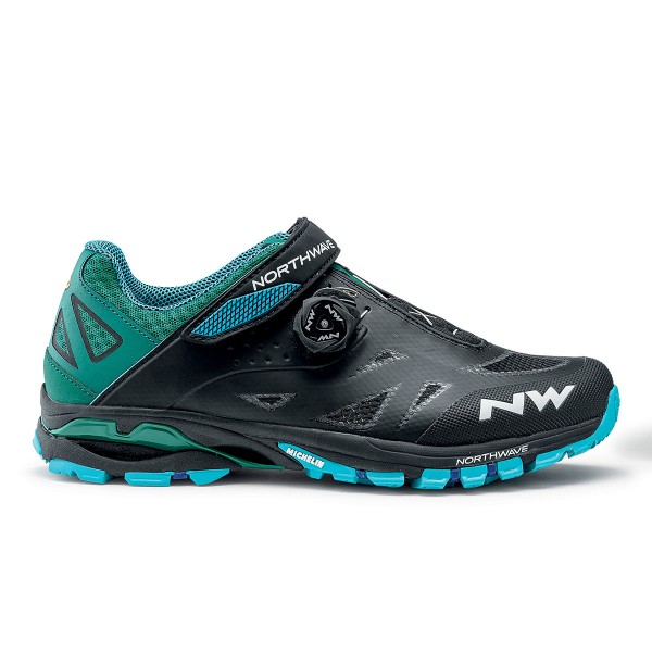 Northwave Spider Plus 2 black / blue 2020