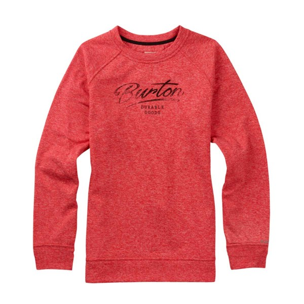Burton Quartz Crew wms coral heather 16/17
