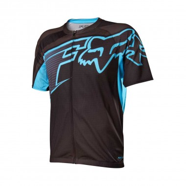 Fox Racing Livewire Descent Jersey light blue 2014