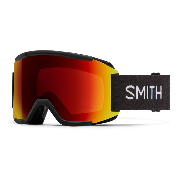 Smith Squad black / ChromaPop sun red mirror 20/21