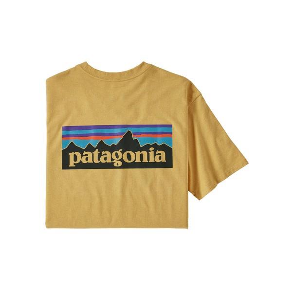 Patagonia P-6 Logo Responsibili Tee surf yellow 2020