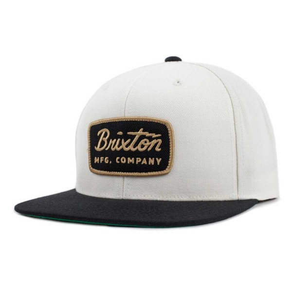Brixton Jolt Snapback white/black