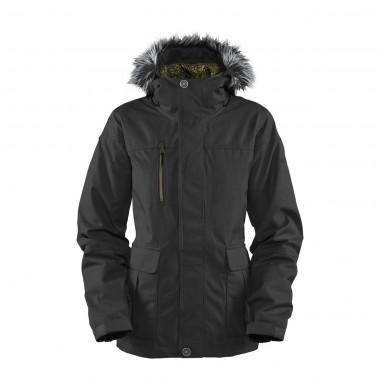 Bonfire Safari Jacket wms black 12/13