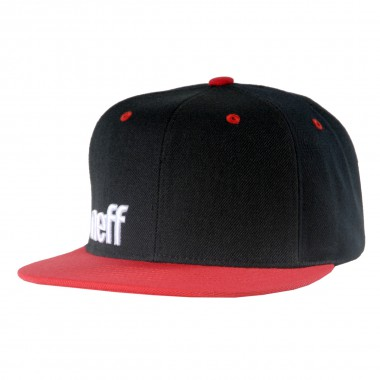 Neff Daily Cap Adjustable black/red/white 2015