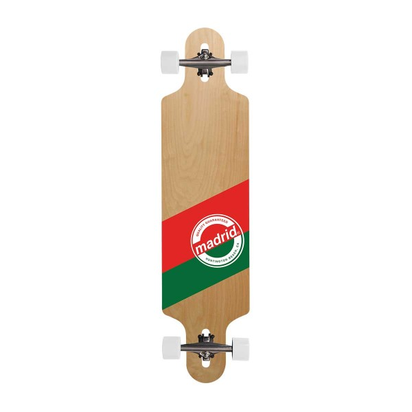 "Madrid Shallow DT 39"" Label complete Longboard 15/16"
