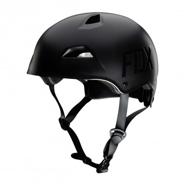 Fox Flight Hardshell Helmet matte black 2016