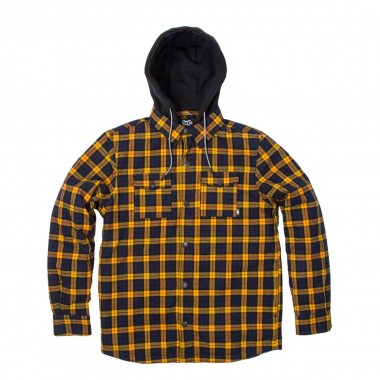 Saga Outerwear Insulated Flannel gold/navy 16/17