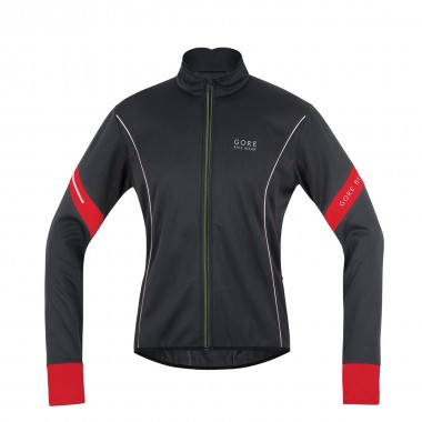 Gore Power 2.0 Soft Shell Jacke black/red 15/16
