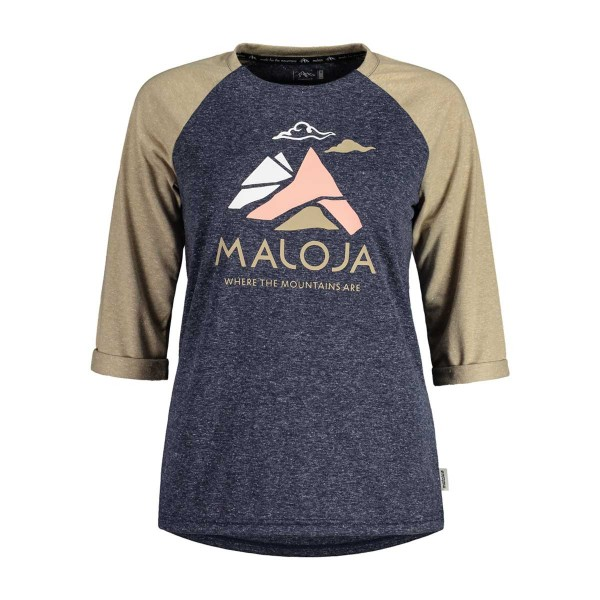 Maloja LuesaiM. 3/4 All Mountain Jersey wms sky 2020