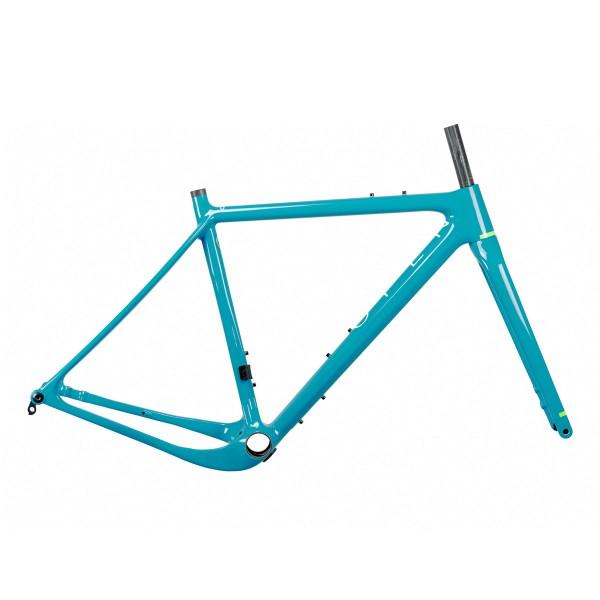 Open New U.P. yeti turquoise Rahmenset