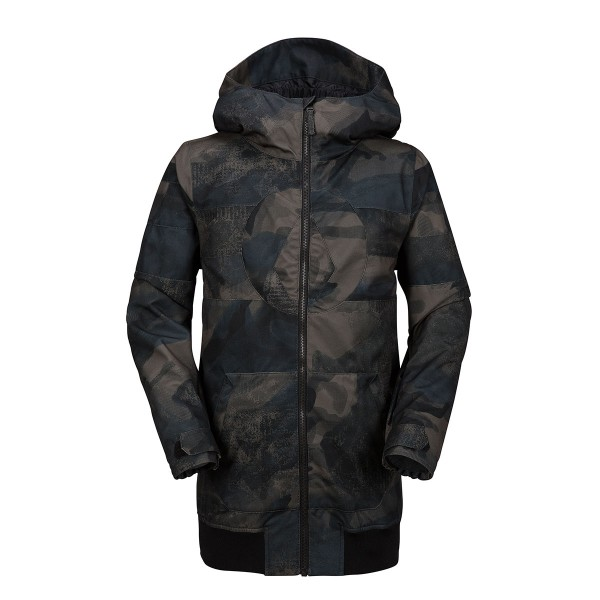 Volcom West Jacket boys camouflage