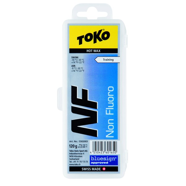 Toko NF Hot Wax blue 120 g 16/17