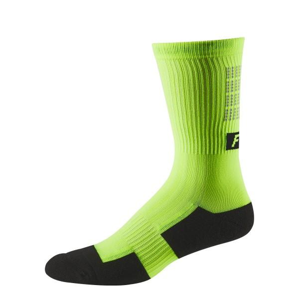 "Fox Racing Trail 8"" Cushion Sock Lunar glow yellow 19/20"