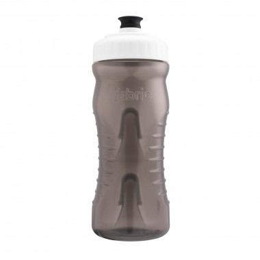 Fabric Trinkflasche grau/weiß 600ml