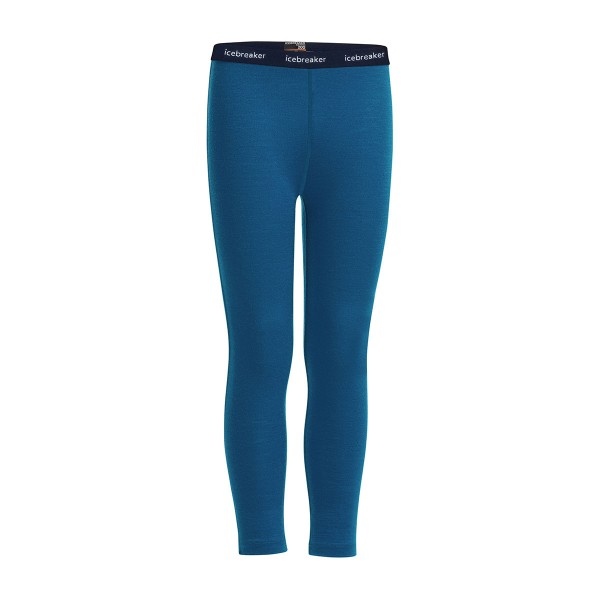 Icebreaker 200 Oasis Leggings kids prus blue 18/19