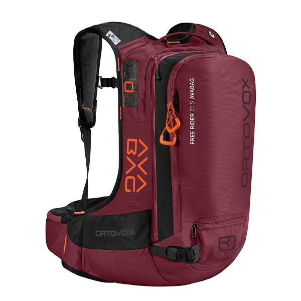 Ortovox Free Rider 20 S Avabag Kit dark blood 20/21