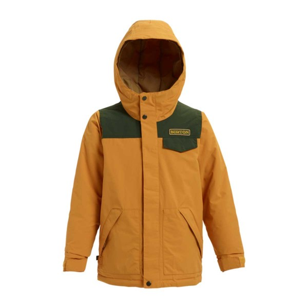 Burton Dugout Jacket boys squashed / resin 18/19