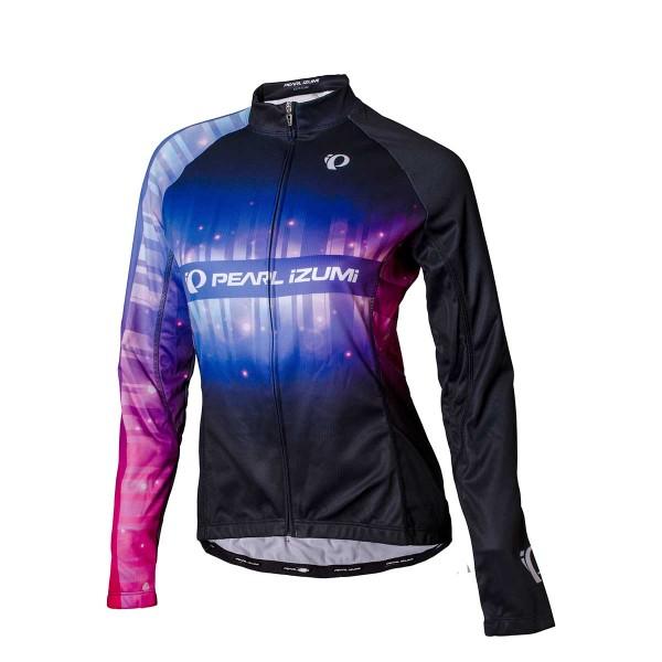 Pearl Izumi Elite LTD Thermal LS Jersey wms stripes black 19/20