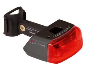 Sigma Sport Rücklicht Cuberider II [black]