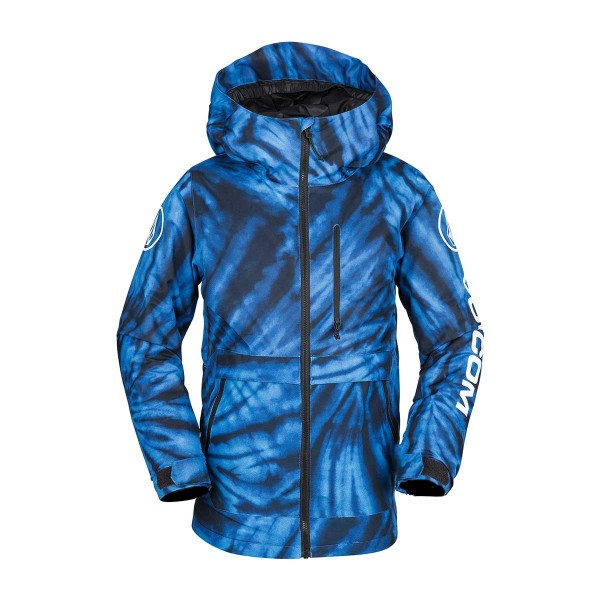 Volcom Holbeck Ins Jacket kids blue tie-dye 18/19