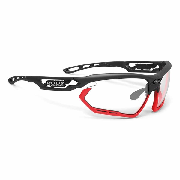 Rudy Project Fotonyk mat black ImpX 2 blk/red bumpers