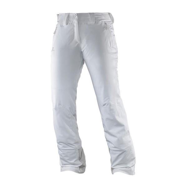 Salomon Iceglory Pant wms white 16/17