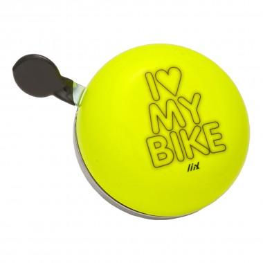Liix Klingel Liix Ding Dong I Love my Bike 2015