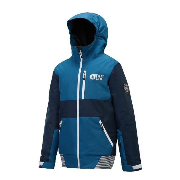 Picture Slope Jacket kids petrol blue 18/19
