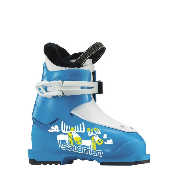 Salomon T1 kids blue/white