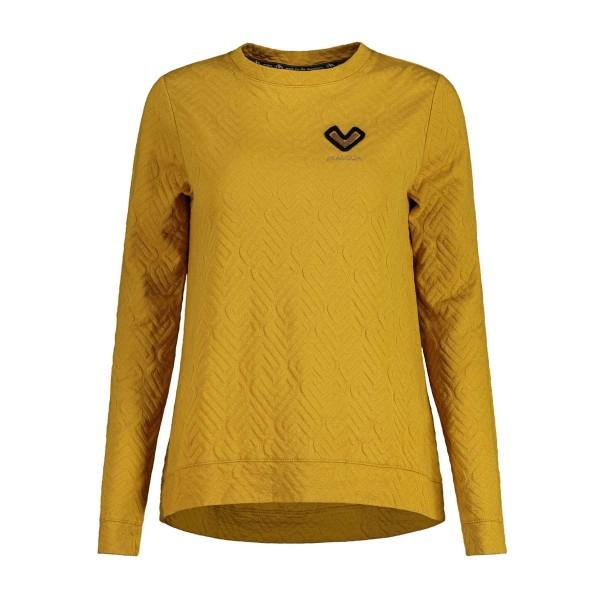 Maloja AquilegiaM. Sweat Shirt wms golden sun 2020