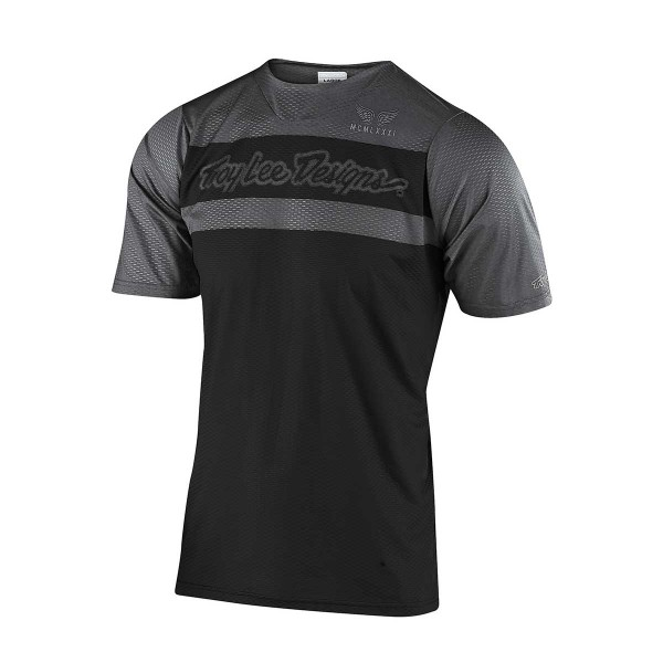 Troy Lee Skyline Air SS Jersey factory black / grey 2020