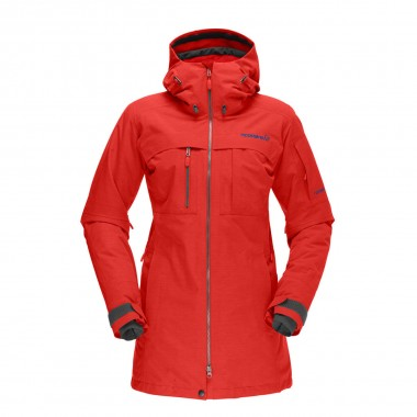 Norrona roldal Gore-Tex Insulated Jacket wms red 14/15