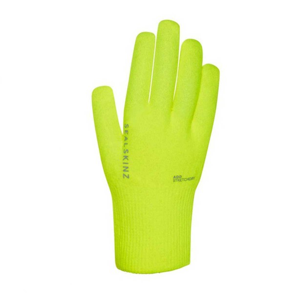 Sealskinz Ultra Grip Hi Vis Gloves neongelb