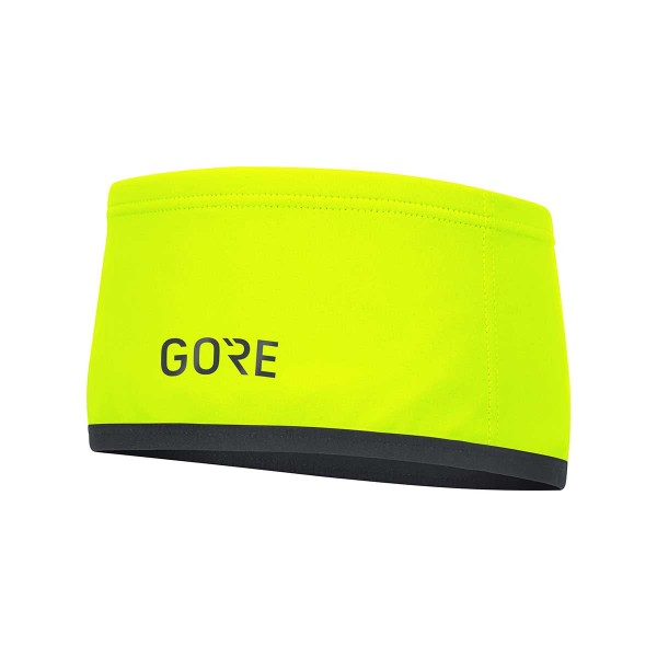 Gore Wear Gore-Tex Windstopper Stirnband neon yellow 21/22