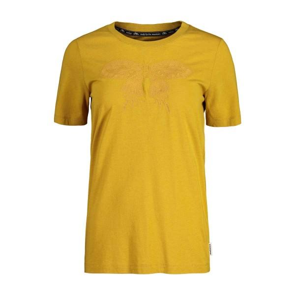 Maloja BotanicaM. T-Shirt wms golden sun 2020