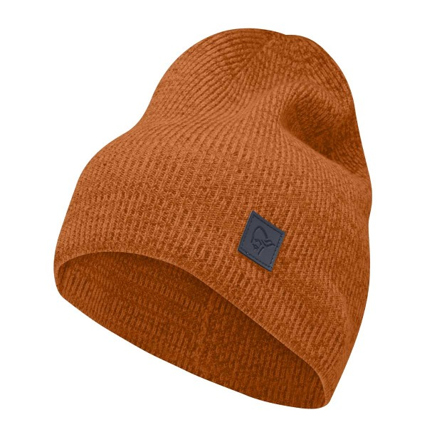 Norrona /29 thin marl knit Beanie scarlet 19/20