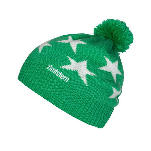 Zimtstern Star 14 Beanie green/white 13/14